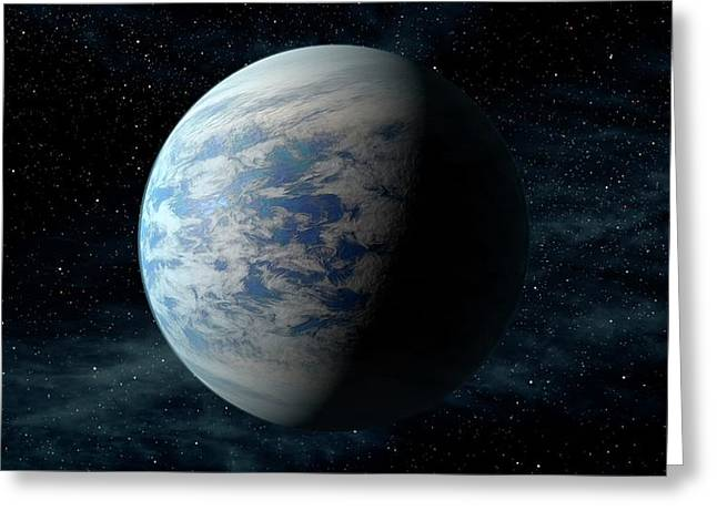 Kepler-69c Greeting Card