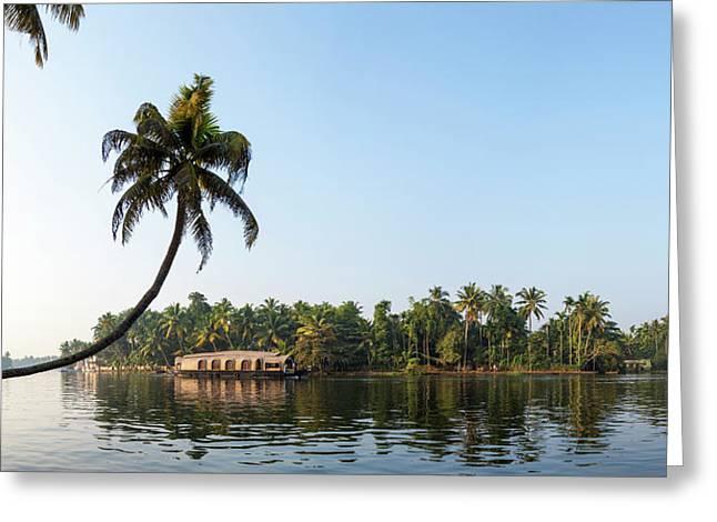 Kerala Backwaters Near Alappuzha Greeting Card