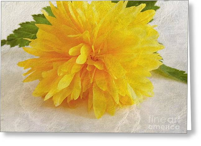 Kerria Japonica Greeting Card
