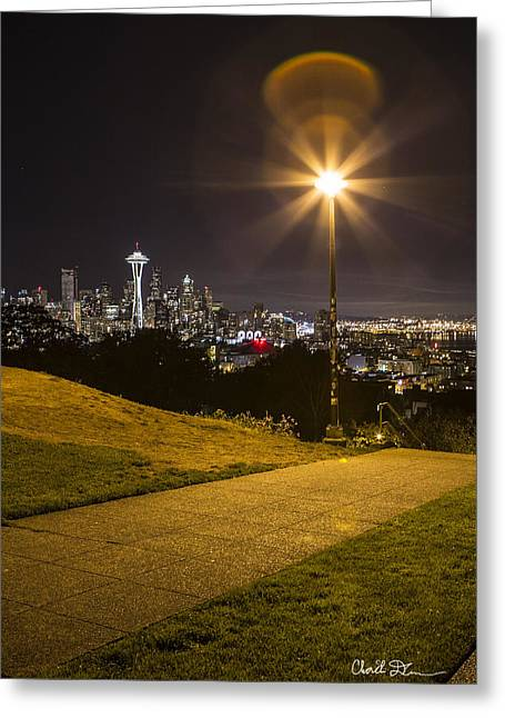 Kerry Park Seattle Greeting Card
