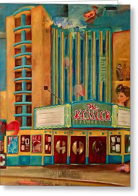Kessler Theater Greeting Card