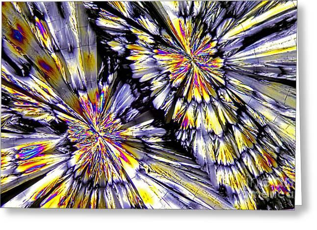 Ketamine Crystals Greeting Card