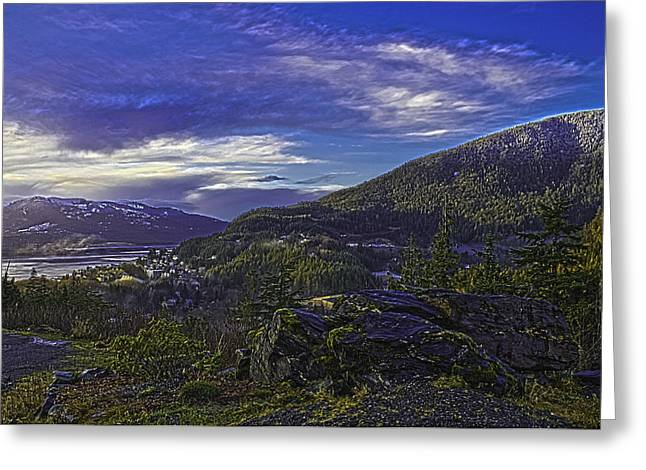 Ketchikan 4 Greeting Card by Timothy Latta