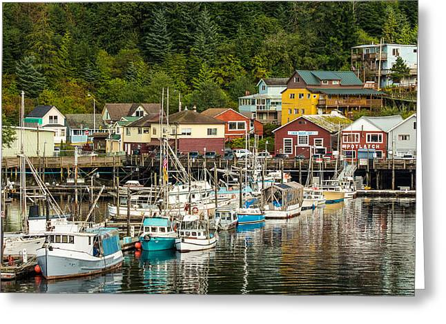Ketchikan Harbor Greeting Card
