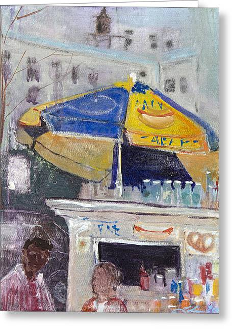 Ketchup Or Mustard Greeting Card