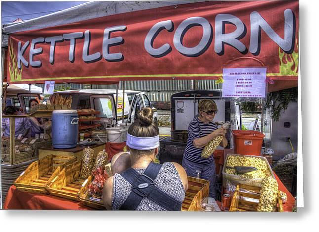 Kettle Corn Greeting Card