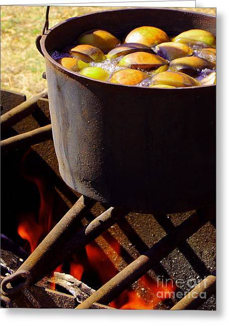 Kettle On The Fire Greeting Card