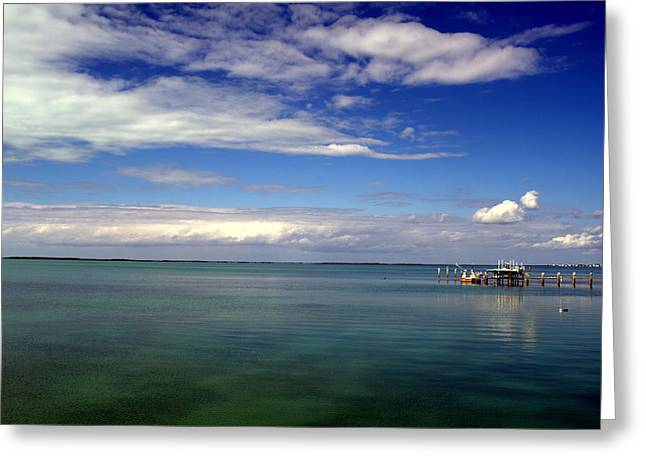Key Largo Greeting Card