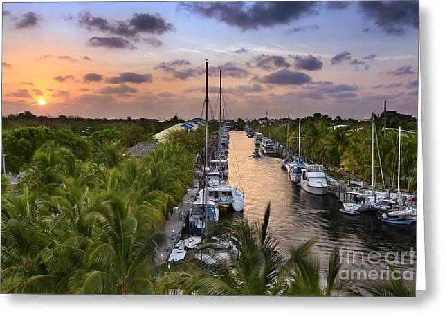 Key Largo Greeting Card by Rod McLean