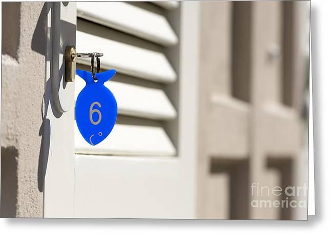 Key-ring Greeting Card by Mats Silvan