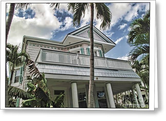 Key West Dreaming Greeting Card by Joan  Minchak