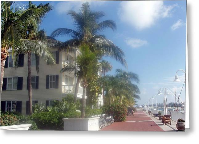 Greeting Card featuring the photograph Key West In Florida by Teresa Schomig