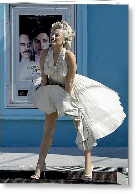 Key West Marilyn Greeting Card