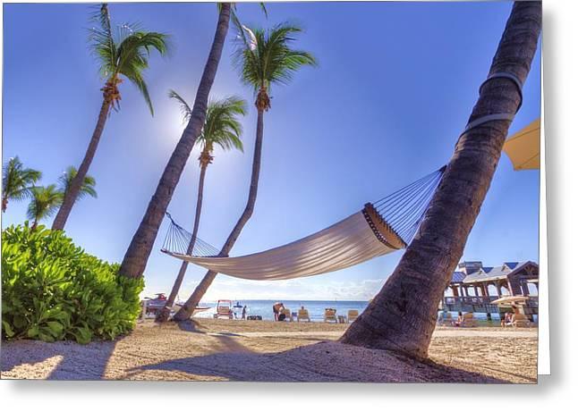Key West Siesta Greeting Card by Danny Mongosa