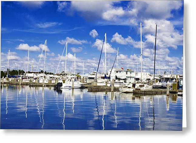 Key West Greeting Card by Swank Photography