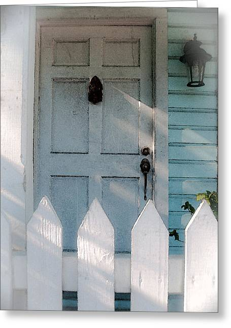 Key West Welcome To My Home Greeting Card
