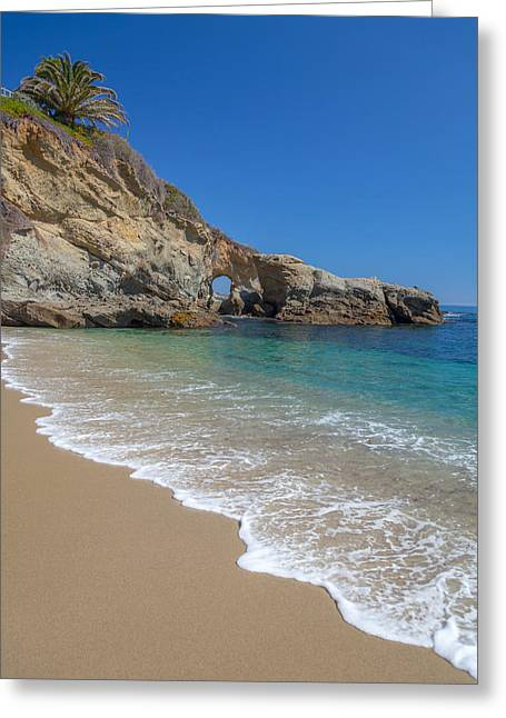Keyhole Arch Laguna Beach Greeting Card