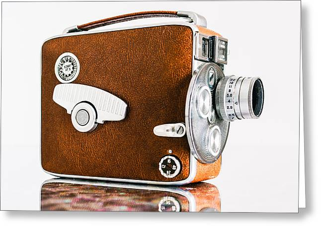 Keystone 8mm Camera Greeting Card