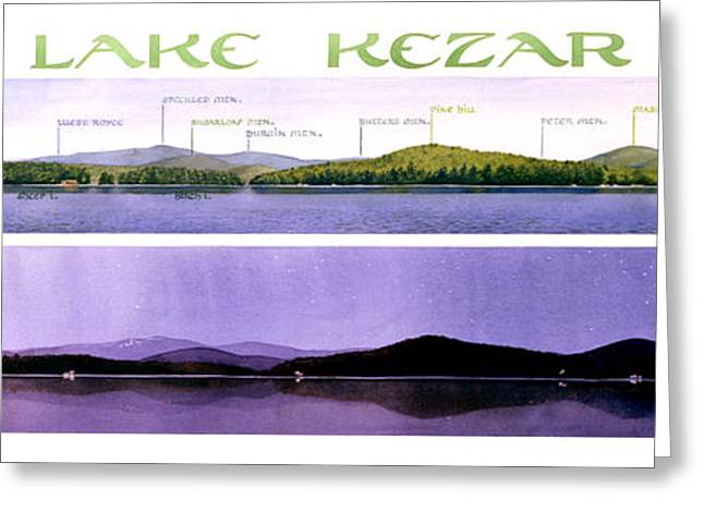 Kezar Lake View Greeting Card