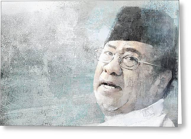 Khalid Ibrahim Greeting Card