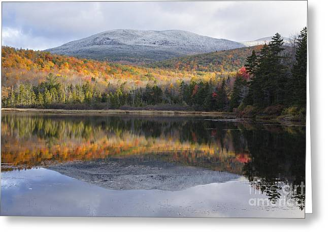 Kiah Pond - Sandwich New Hampshire Greeting Card