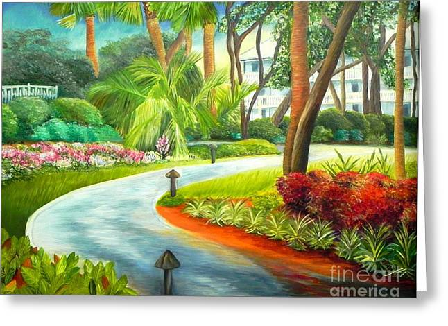 Kiawah Path - Kiawah Island Sc Greeting Card by Shelia Kempf