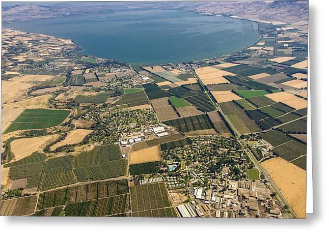 Kibbuz Degania Aleph, Sea Of Galilee Greeting Card