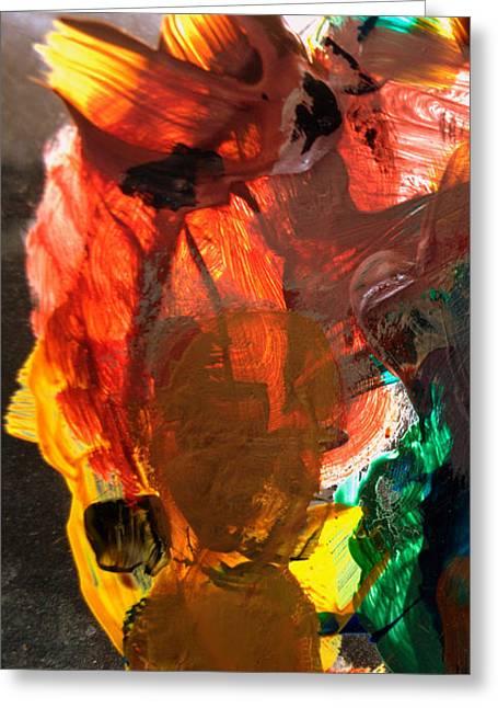 Greeting Card featuring the digital art Kid Passenger by Christine Ricker Brandt