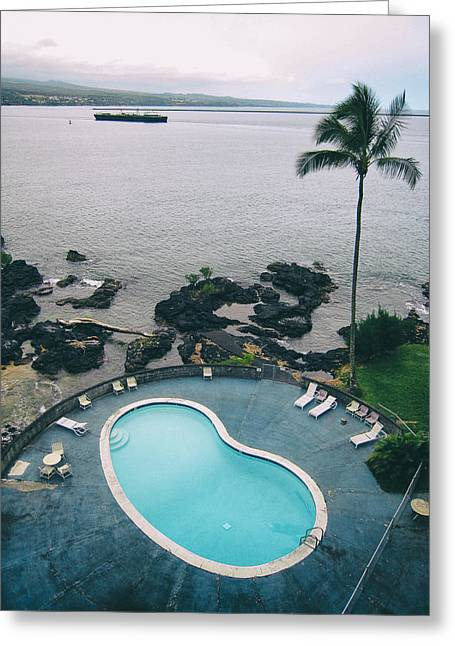 Kidney Pool In Paradise Greeting Card