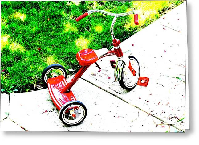 Kids Greeting Card by Jay Nodianos