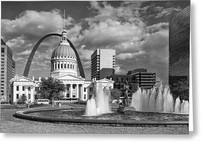 Kiener Plaza Greeting Card