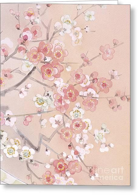 Kihaku Crop II Greeting Card by Haruyo Morita