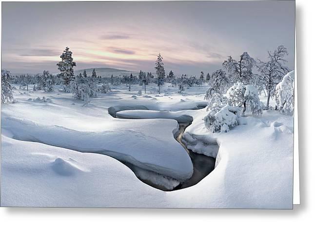 Kiilopa?a? - Lapland Greeting Card