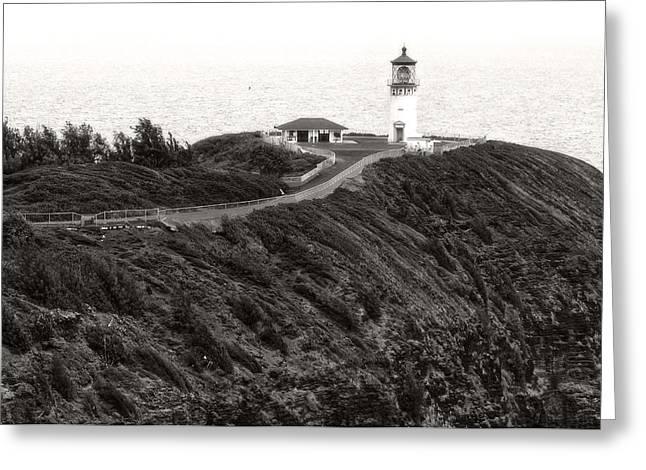 Kilauea Lighthouse Greeting Card by Photography  By Sai
