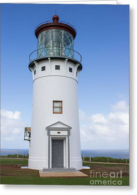 Kilauea Lighthouse Greeting Card by Suzanne Luft