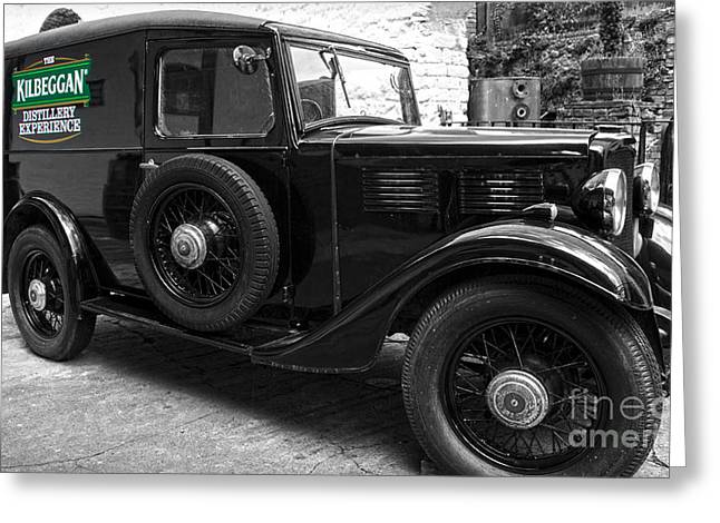 Kilbeggan Distillery's Old Car Greeting Card
