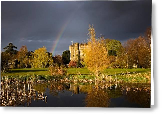 Kilkea Castle Hotel, Built 1180 By Hugh Greeting Card