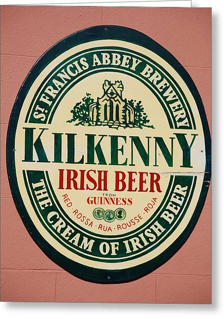 Kilkenny Irish Beer Greeting Card