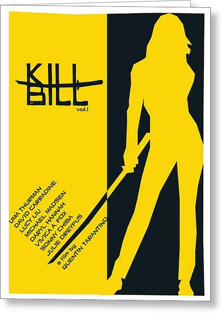 Kill Bill Vol.1 Poster  Greeting Card