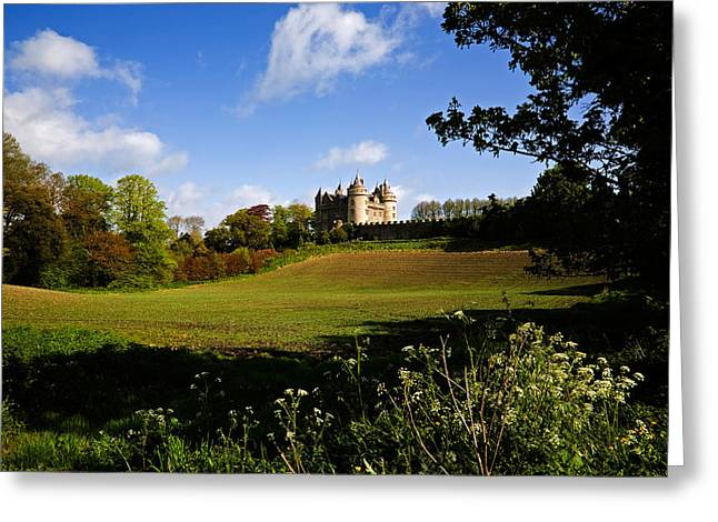 Killyleagh Castle, Co Down, Ireland Greeting Card by Panoramic Images