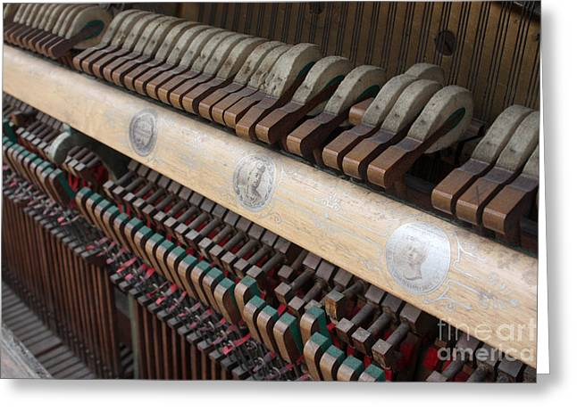 Kimball Piano-3471 Greeting Card by Gary Gingrich Galleries