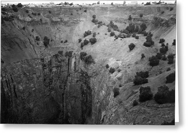 Kimberley crater Of Fortune Greeting Card