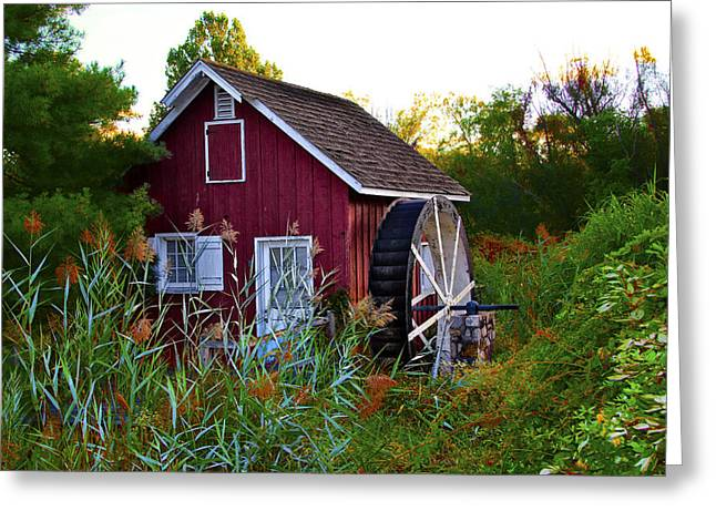 Kimberton Mill Greeting Card by Bill Cannon