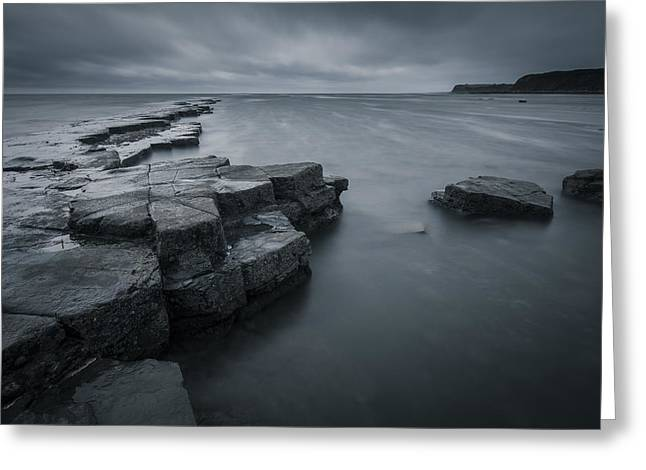 Kimmeridge Gray Greeting Card