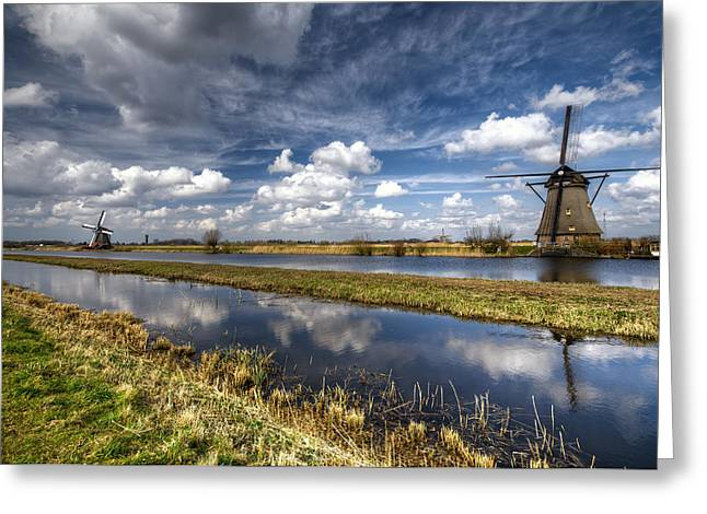 Kinderdijk Greeting Card