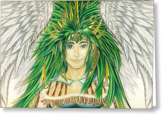King Crai'riain Portrait Greeting Card