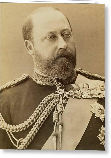 King Edward Vii  Greeting Card