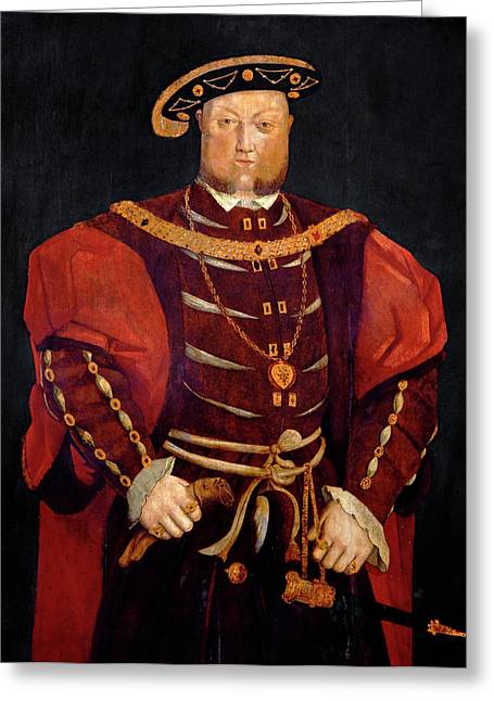 King Henry Viii Greeting Card by Bodleian Museum/oxford University Images