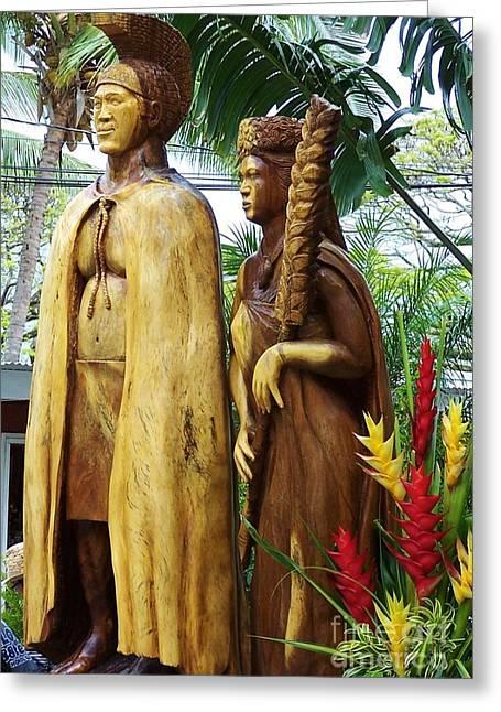 King Kamehameha Greeting Card