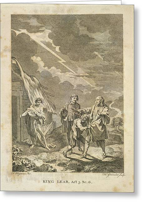 King Lear Greeting Card by British Library
